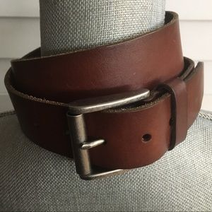 Relic Wide Leather Belt